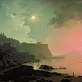 Vesuvius from Posillipo Poster by Joseph Wright of Derby