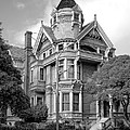 VICTORIAN HAAS LILIENTHAL HOUSE in SAN FRANCISCO Poster by Daniel Hagerman