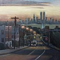 Victory Boulevard at Dawn Print by Sarah Yuster