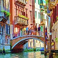 View from the Canal Poster by Jeff Kolker