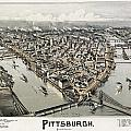 VIEW OF PITTSBURGH, 1902 Print by Granger