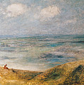View of the Sea Guernsey by Pierre Auguste Renoir