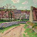 Village in Clohars Print by Henry Moret