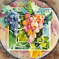 Vineyard Poster by Joan  Jones