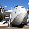 Vintage BOAC British Overseas Airways Corporation Speedbird Flying Boat . 7D11275 Print by Wingsdomain Art and Photography