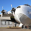 Vintage BOAC British Overseas Airways Corporation Speedbird Flying Boat . 7D11276 Poster by Wingsdomain Art and Photography