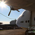 Vintage BOAC British Overseas Airways Corporation Speedbird Flying Boat . 7D11284 Print by Wingsdomain Art and Photography