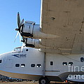 Vintage BOAC British Overseas Airways Corporation Speedbird Flying Boat . 7D11291 Poster by Wingsdomain Art and Photography