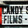 Vintage Candy Store Poster by AdSpice Studios