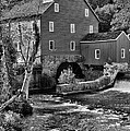 Vintage Mill in Black and White Poster by Paul Ward