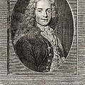 Voltaire, French Author Poster by Middle Temple Library