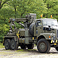 Volvo N10 Truck Crane Of The Belgian by Luc De Jaeger