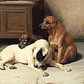 Waiting For Master Poster by William Henry Hamilton Trood