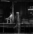 Waiting for the tide Print by Bob Orsillo