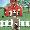 Waiting on the Bell Poster by Sue Ann Thornton