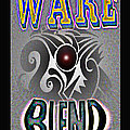 Wake blend product design Poster by George  Page