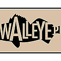 Walleye Pike Poster by Geoff Strehlow