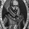 Walter Raleigh, English Courtier Print by Photo Researchers