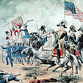 War Of 1812 Battle Of New Orleans 1815 Print by Photo Researchers
