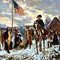 Washington at Valley Forge Poster by War Is Hell Store