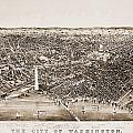 WASHINGTON D.C., 1892 Print by Granger