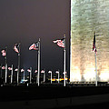 Washington Monument at Night Print by Jeff Stein
