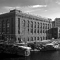 WASHINGTON WATER POWER POST STREET STATION - SPOKANE WASHINGTON Print by Daniel Hagerman