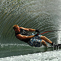 Water Skiing Magic of Water 11 Poster by Bob Christopher