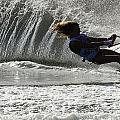 Water Skiing Magic of Water 12 Poster by Bob Christopher
