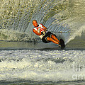 Water Skiing Magic of Water 4 Poster by Bob Christopher