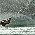 Water Skiing Magic of Water 7 Poster by Bob Christopher