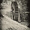 Water Wheel Print by Bill Cannon