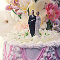 Wedding cake Print by Garry Gay