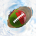 Wee Football Poster by Nikki Marie Smith