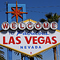 Welcome To Las Vegas Poster by Photo taken by Darren Olley