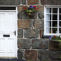 Welsh cottage detail Poster by Jane Rix