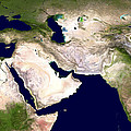 Western Asia, Satellite Image Poster by Nasa