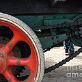 Wheels of Steam Powered Truck 7d15103 Poster by Wingsdomain Art and Photography