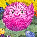 Where's Pinkfish Poster by Catherine G McElroy