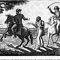 WHIPPING, 1817 Print by Granger