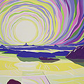 Whirling Sunrise - La Rocque Poster by Derek Crow