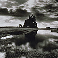 Whitby Abbey Print by Simon Marsden