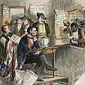 WHITE LEAGUE, 1874 Poster by Granger