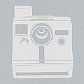 White Polaroid Camera Poster by Irina  March