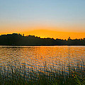 Wilderness Point sunset panorama Print by Gary Eason