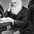 William Cullen Bryant, American Poet Print by Photo Researchers