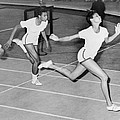 Wilma Rudolph 1940-1994 At The Finish Print by Everett