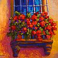 Window Box  Poster by Marion Rose