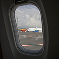 Window View on an Airplane Poster by Jaak Nilson