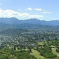 Windward Oahu Panorama I Poster by David Cornwell/First Light Pictures, Inc - Printscapes